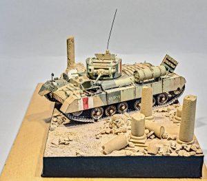 35116 BRITISH INFANTRY TANK Mk.III VALENTINE I + SgtPappas