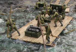 35081 SOVIET ARTILLERY CREW ON MANEUVER + 35115 SOVIET LIMBER 52-R-353M Mod. 1942  + 35137 ТPUSHING SOVIET SOLDIERS + 35064 SOVIET 57-mm & 76-mm SHELLS w/AMMO BOXES + Eugeniy Evtushenko