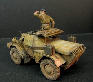 35067 DINGO Mk.1b BRITISH SCOUT CAR w/CREW + Kamil Feliks Sztarbala