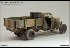 35130 GAZ-MM Mod.1941 1.5t CARGO TRUCK + Roman Proshkin