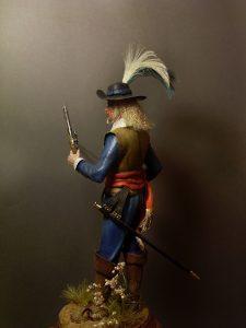 16011 FRENCH GUARDSMAN XVII CENTURY +  Mickael Nitschke