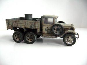 35136 GAZ-AAA Mod. 1940. CARGO TRUCK + Konstantin (Kosstas)