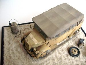 35147 L1500A (Kfz.70) GERMAN PERSONNEL CAR + Kosstas