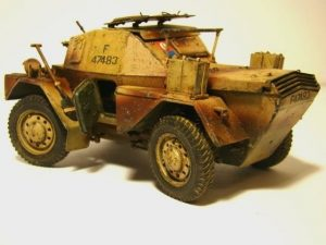35067 DINGO Mk.1b BRITISH SCOUT CAR w/CREW + Wolk33