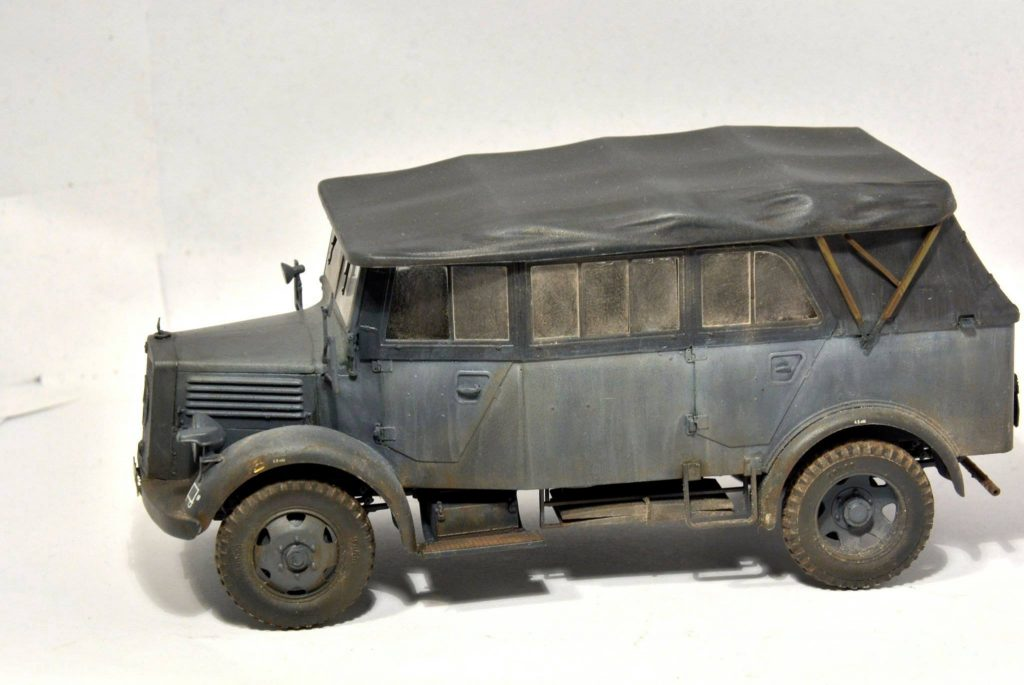 2d7d7f22f3a60a Miniart – 35147 L1500A (Kfz.70) GERMAN PERSONNEL CAR Miroslav Belovič
