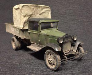 35124 GAZ-AA CARGO TRUCK 1.5t TRUCK Aleksandr Fomin