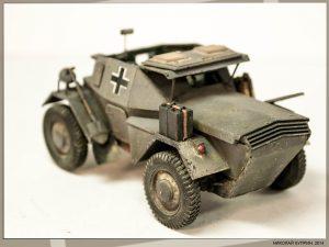 35074 DINGO Mk.II SCOUT CAR w/CREW Pz.Kmpf. Mk.I 202(e) + Nikolai Kuprin