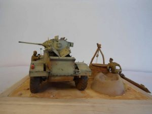 35152 AEC Mk.I ARMOURED CAR  + 35051 BRITISH JEEP CREW + Bogdan Movchan