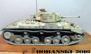35100 Pz.Kpfw. Mk.III 749(e) VALENTINE III w/CREW + Robert Bednarcik
