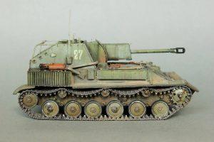 35036 SU-76M SOVIET SELF-PROPELLED GUN w/CREW + Andrey Surovtsev