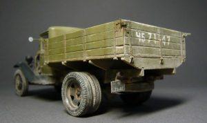 35124 GAZ-AA CARGO TRUCK 1.5t TRUCK + Aleksey Kulikov