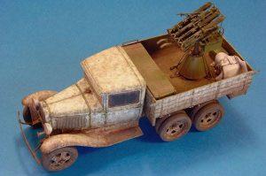 35177 GAZ-AAA w/QUAD M4 MAXIM + Sovietmodeler