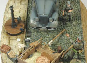 35095 MB TYPE 170V Personenwagen + 35542 FARM CART + Stanisław Jabłoński