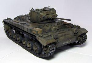 35092 VALENTINE Mk.IV RED ARMY w/CREW + Mrack
