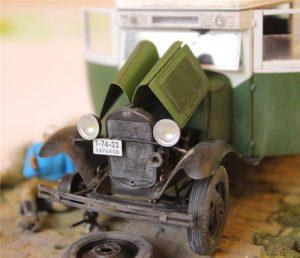 38005 PASSENGER BUS GAZ-03-30 +  Michail Strelnikov