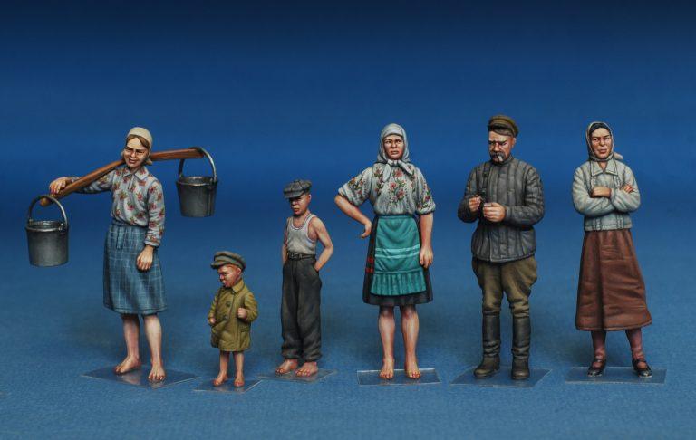 38011 ソビエトの村人