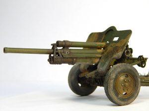 35129 USV-BR 76-mm GUN Mod.1941 w/ LIMBER AND CREW + Andrey Korovin
