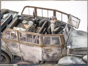 35147 L1500A (Kfz.70) GERMAN PERSONNEL CAR + Nikolay Kuprin