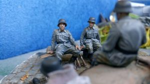 35040 GERMAN ARTILLERY CREW RIDERS + Kiril Koloskov