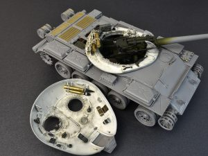 Build up 37009 T-54A INTERIOR KIT