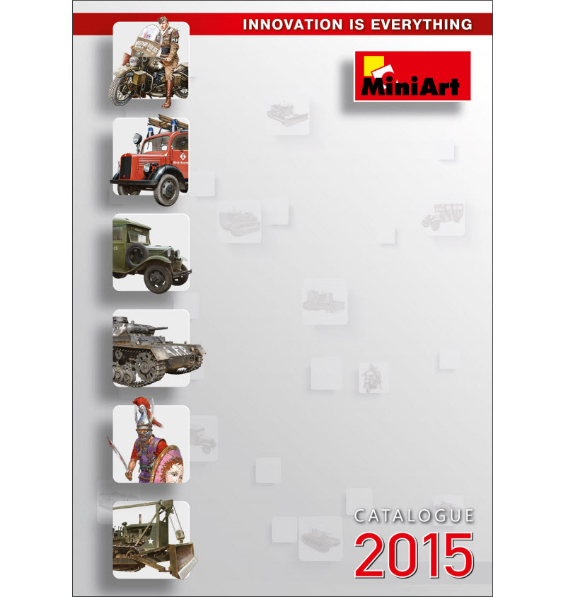 New MiniArt's Catalogue 2015