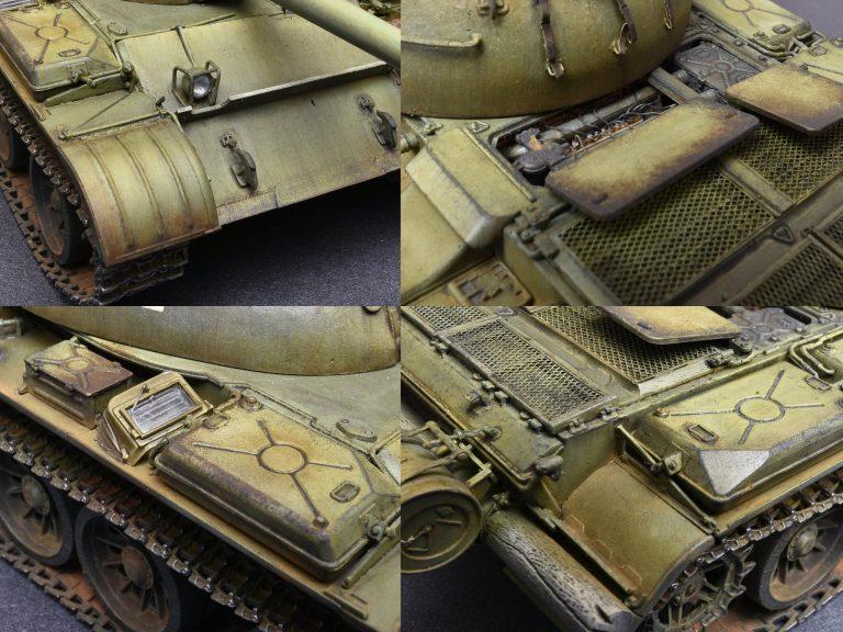 37009  T-54Aフルインテリア(内部再現)