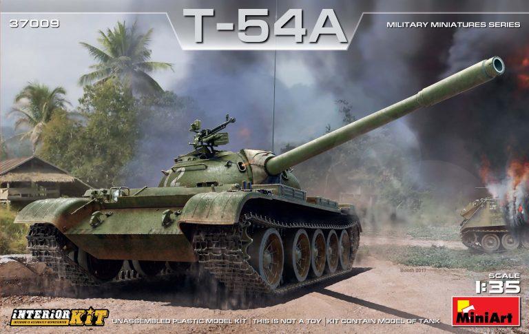 37009 T-54A Bausatz mit Innenausstattung