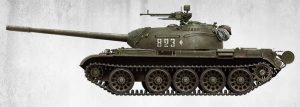 Side views 37009 T-54A Bausatz mit Innenausstattung