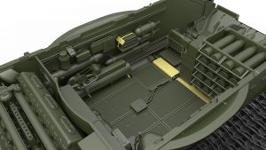 3D renders 37009 T-54A INTERIOR KIT