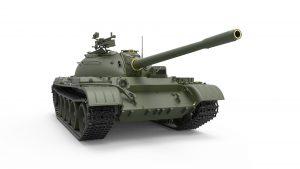 3D renders 37009  T-54Aフルインテリア(内部再現)