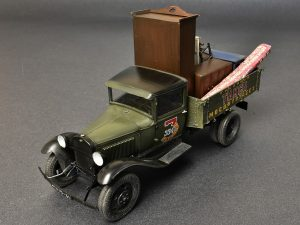 Build up 38013 SOVIET 1,5 TON CARGO TRUCK