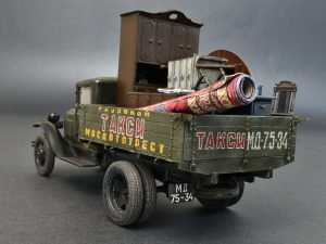 Photos 38013 Sowjetischer 1,5 Tonnen Lastwagen