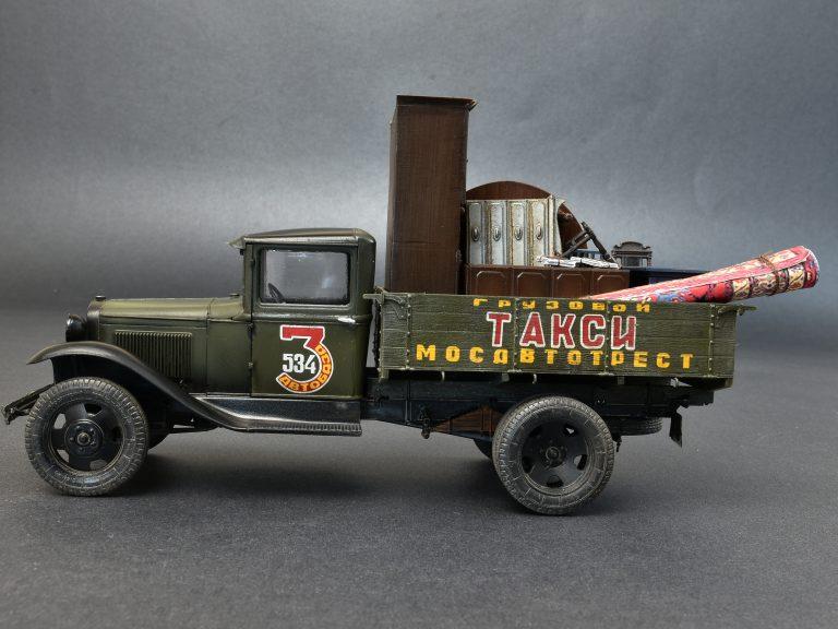 38013 Sowjetischer 1,5 Tonnen Lastwagen