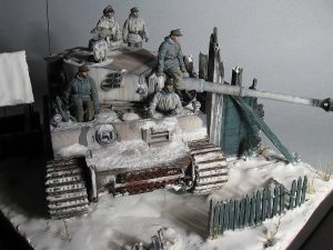 35021 GERMAN TANK CREW. WINTER 1943-45 + Vitaliy Shopaga