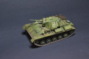 35194 T-70M SOVIET LIGHT TANK w/CREW. SPECIAL EDITION + Newhope