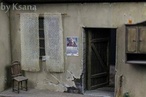 36008 ITALIAN VILLAGE DIORAMA + 35548 FURNITURE SET + Mikhail Zhukov