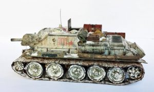 35181 SU-122 Early Production + MattSz
