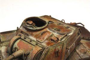 35243 T-80 SOVIET LIGHT TANK w/CREW. SPECIAL EDITION + Rodolphe Morieux