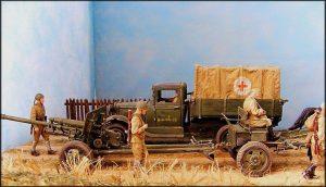 35045 SOVIET DIVISIONAL ARTILLERY  + Michael Kaminski