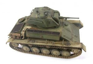 35117 SOVIET LIGHT TANK T-80. SPECIAL EDITION  + Ron Goins