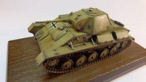 35026 GERMAN Pz. Kpfw. T-70 743(r) w/CREW + Denis Kostyuk