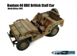 35050 BRITISH STAFF CAR w/CREW + Glenn Bartolotti