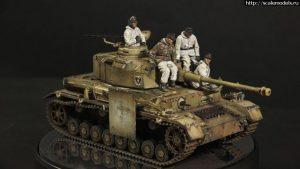 35021 GERMAN TANK CREW. WINTER 1943-45 + Alexander Bodrikov