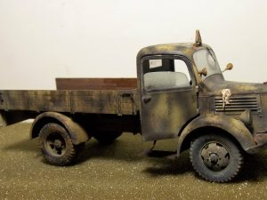 35150 MB 1500A 4×4 CARGO TRUCK +  Martin Giangreco