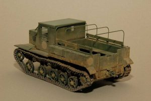 35140 Ya-12 SOVIET ARTILLERY TRACTOR Late Production + Saiph