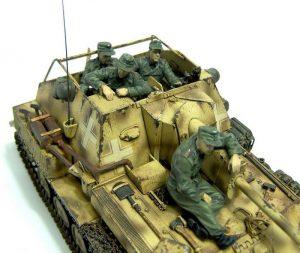 35053 JAGDPANZER SU-76(r) w/CREW + Gulumik