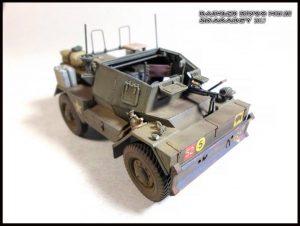 35077 DINGO Mk.III BRITISH SCOUT CAR w/CREW + Roman Zhuk