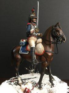 16015 FRENCH CUIRASSIER NAPOLEONIC WARS. + Renik van Noordt