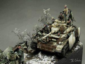 35194 T-70M SOVIET LIGHT TANK w/CREW. SPECIAL EDITION+ SC Corbusier