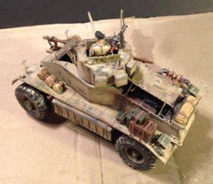 35152 AEC Mk.I Armoured Car+ René Opimodel